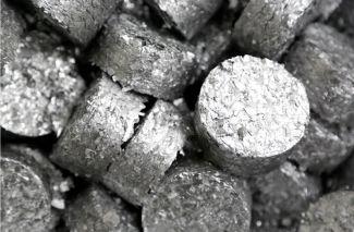Compactage des copeaux d'aluminium